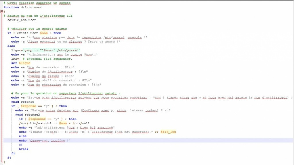 Script_Shell-Suppression_Utilisateur