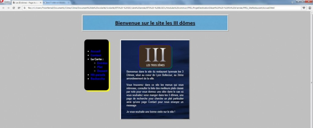 PPE1-ProjetWeb_SiteRestaurant