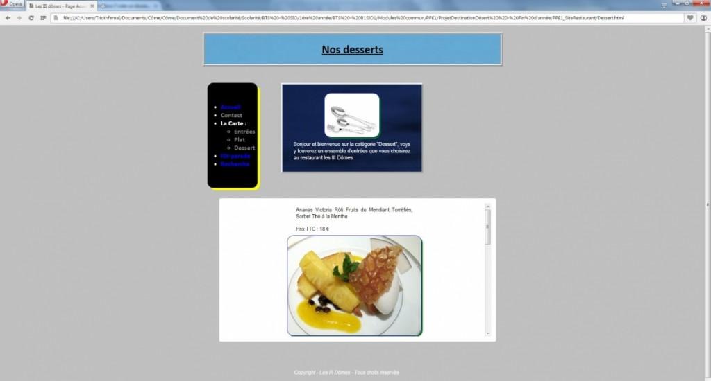 PPE1-ProjetWeb_SiteRestaurant_Desert