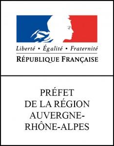 Logo officiel de la Préfecture de Rhône-Alpes/Auvergne à Lyon